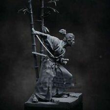 1/24 75mm Model Kits Sword of Wind Japan Samurai Figurine Unpainted Garage Kit