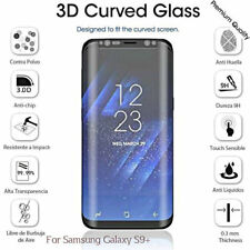 Tempered Glass 9H 3D Full Curved Screen Protector for Samsung Galaxy S9+ Plus UK