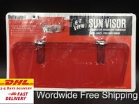 Vintage Style Sun visor Accessories Red Fits: 50's FORD CHEVY Hot Rod Rat Rod