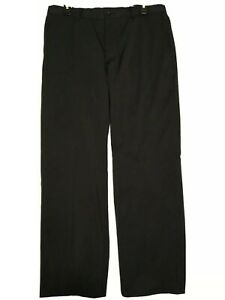 Nike Golf Dri-Fit Flat Front Performance Golf Pants Black Mens 32x28
