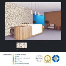 BEAVER-TAN-WHITE POLYMER-BASED LIQUID INTERIOR WALLPAPER SILK COATING PAINT
