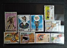 Lot de 9 timbres sur le sport - Sénégal