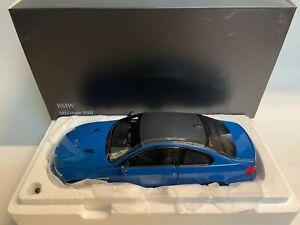 Kyosho BMW M3 e92 Laguna Seca blue 2012 1/18 08734LBL