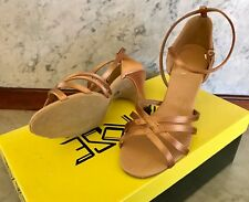 Ray Rose Latin Dance Shoes, Size 5, Flesh Bronze Color New Unworn Style 830