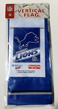 Detroit LIONS NFL Football Vertical Banner Flag by Wincraft