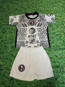 New Club Aguilas DEL America 2021 kids uniform