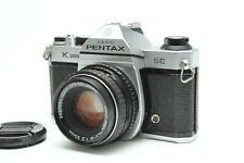 Pentax Asahi K1000 SE 35mm SLR Film Camera W/SMC SMC Pentax-M 50mm f/2 Lens