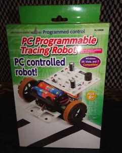 PC Programmable Tracing Robot Kit