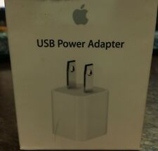 OEM Apple 5W USB Power Adapter Charger Wall Plug for iPhone iPod