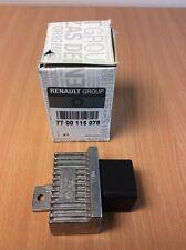 GENUINE RENAULT NISSAN PRE HEATER DIESEL GLOW PLUG RELAY 7700115078 & 11067BN700