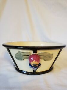"""Weller Noval 9"""" Console Bowl / HTF / Great color"""