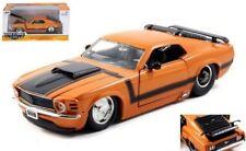 1 24 Scale 1970 Ford Mustang Boss 429 (blue or Orange) by Jada BIGTIME Muscle Orange