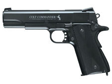 Umarex 2254028 Colt Commander Replica 1911 Semi-Auto Pistol – CO2 Powered