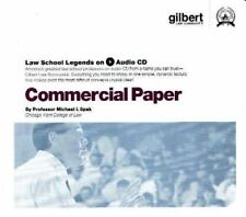 Law School Legends Audio: Commercial Paper by Michael I. Spak (2005, CD, Revised