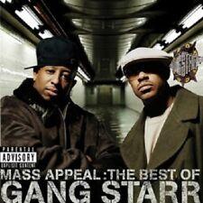 GANG STARR 'MASS APPEAL:BEST OF GANG STARR' CD NEW!