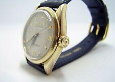 Rolex Oyster Perpetual 14k Gold No Date Ref. 6084, circa 1953 Mens Watch