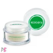 Ecocera Banana Loose Powder Semi Transparent Anti Redness Vegan 8g  New Formula