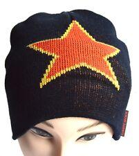 NEW White Rock black star 02 winter beanie sportswear hat