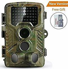 Caméra de Chasse Coolife Caméra de Surveillance Étanche 49 LEDs 16MP 1080P HD 25