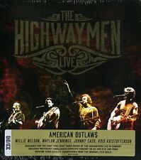 THE HIGHWAYMEN LIVE AMERICAN OUTLAWS 3CD+DVD NUOVO SIGILLATO !!