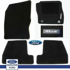 Genuine Ford Focus 2011-14 Car Black Carpet Mats Mat Set Of 4 *New* Tailored