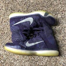 2e5127a22369 Nike Kobe X 10 Elite High Grand Purple 718763-505 Size 9 Air Mamba