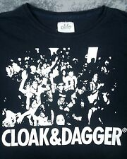Exclusive Alife Dim Mak Cloak & Dagger Aoki T Shirt XL Distressed VTG Black