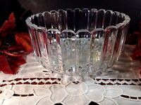 """MIKASA CRYSTAL HIGH POINT 8"""" SERVING BOWL 5"""" Deep New In Box"""