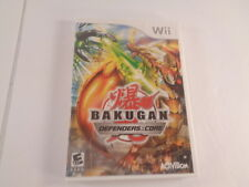 Bakugan Defenders of the Core Nintendo Wii 2010 Disc Case Video Game Tested