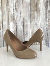 80296bb5ba1 CORSO COMO Beige Nude DEL Comfy Patent Leather Heels 8 NEW!