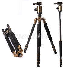 Zomei Z888C Lightweight Aluminum Tripod With 360 Degree Ball Head For DSLRCamera