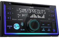 JVC KW-R930BTS Double 2 DIN CD/MP3 Player iHeart Radio SiriusXM Ready Bluetooth