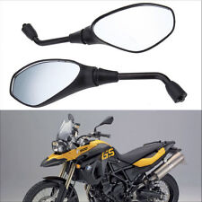Motorcycle Rear View Mirror 10mm For BMW F650GS F800GS F800R Aprilia Tuono SL750