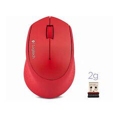 Wireless Mouse Logitech M280 Nano Receiver PC or Mac OS Win8/7/Vista/XP Black