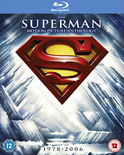 The Superman Motion Picture Anthology (Blu-ray) Christopher Reeve