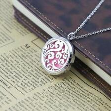 Clouds Hollow Pendant Chain Necklace Essential Oil Diffuser Perfume Gifts