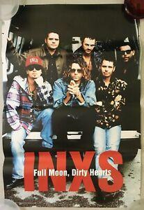 "INXS - Full Moon, Dirty Hearts - '93 Promo Poster - 36x24"" - USA"