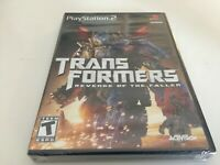 Transformers: Revenge of the Fallen (Sony PlayStation 2, 2009) PS2 NEW