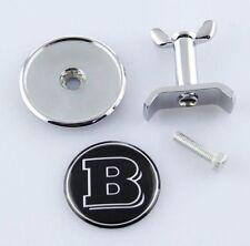 Brabus Mercedes Benz Bonnet Badge Hood Emblem Sticker C S E Class 44mm w204 W211