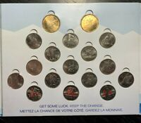 2010 VANCOUVER OLYMPIC GAMES SET RCM - 17 COINS UNC!