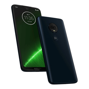 "6.2"" Motorola Moto G7 Plus 64GB 4G LTE GSM Factory Unlocked XT1965 AT&T T-mobile"