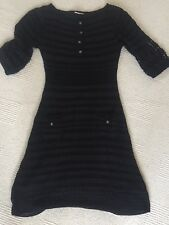 Karen Millen Black Crochet Dress Size 1 Amazing! Immaculate