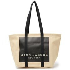 Marc Jacobs Kamala Canvas Tote Bag Natural New with tag