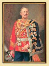 KAISER WILHELM II. PORTRAIT AUF LEINWAND IM GOLDRAHMEN 11 um 1900