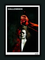 New Halloween 2018 MICHAEL MYERS Ltd. Ed. Signed Artist Print - Horror Movie Art
