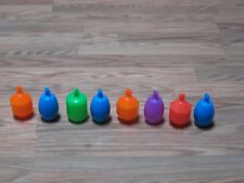 New listing Fisher Price Set Of 8 Vintage Snap Lock Linking Plastic Beads Toy