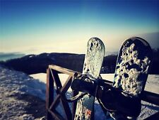 ART PRINT POSTER PHOTO SPORT SNOWBOARDING SNOWBOARD SNOW COLD LFMP0551