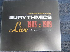 CD  EURYTHMICS  Live  1983 - 1989  6 Tracks  Promo CD  Neuwertig