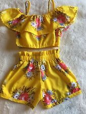 Girl 2pc Shorts Set.from The Islands.size4-5