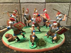 Toy Soldiers 10 Plastic 60mm Romans